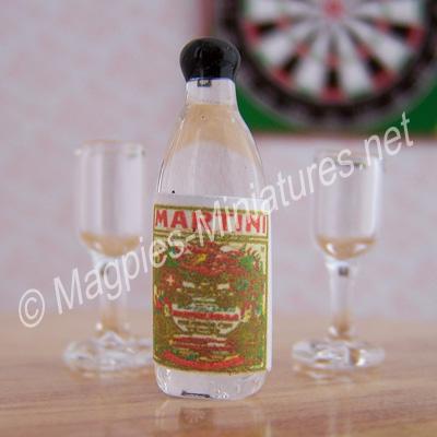 Martini Bottle - Glass