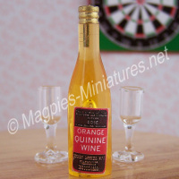 Orange Quinine Wine Tonic - 1890