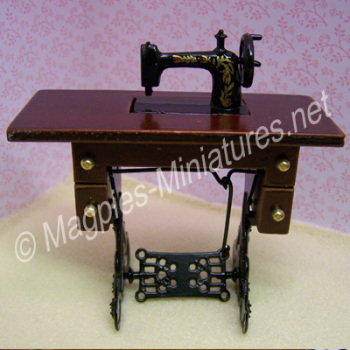 Small Treadle Sewing Machine
