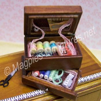 Needlework box