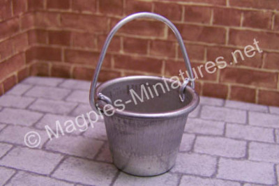 Galvanised Metal Bucket