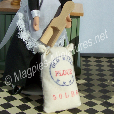 Flour Sack and Scoop