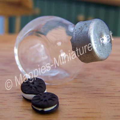 Glass Biscuit Jar