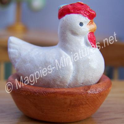 White Chicken Tureen