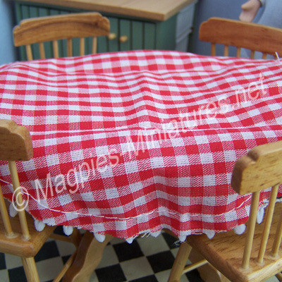Table Cloth, Red