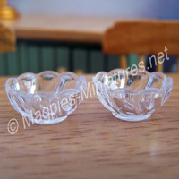 Set of 2 Sweet Bowls (plastic)