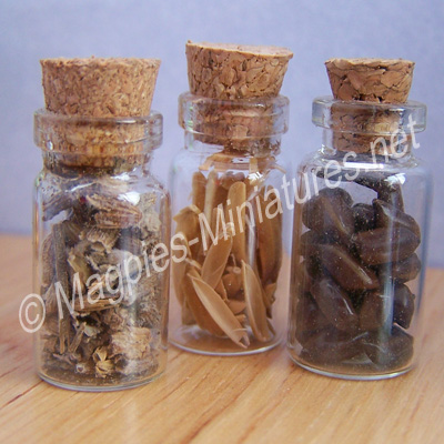 Set of 3 Kitchen Jars