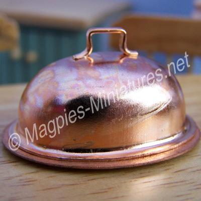 Copper Oval Dish - Fine Quality
