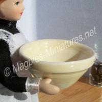 Large Glazed Mixing Bowl