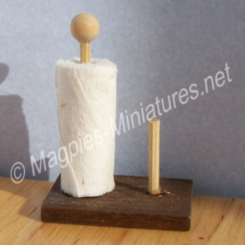 Kitchen Roll and Holder
