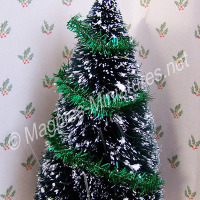 Christmas Tinsel - GREEN