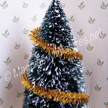 Christmas Tinsel - Gold