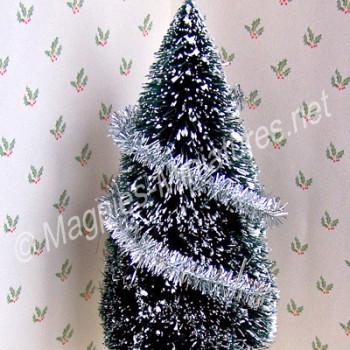 Christmas Tinsel - SILVER