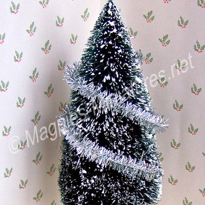 Christmas Tinsel - SILVER