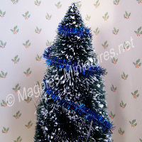 Christmas Tinsel - BLUE