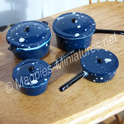 Pots and Pans, Blue