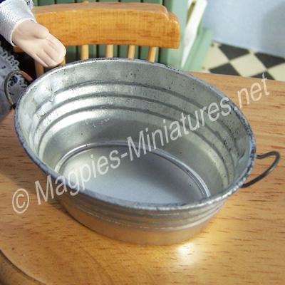 Oval Galvanised Tub