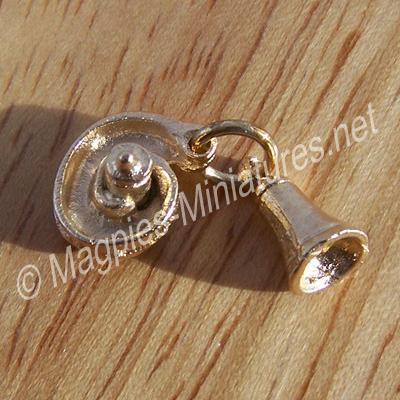 Brass Servant / Shop Bell