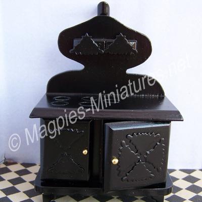 Victorian Black Stove