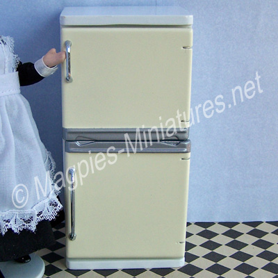 Fridge Freezer White