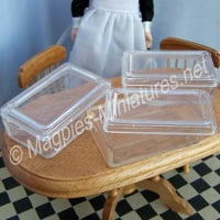Large Plastic Storage Box Pack of 3