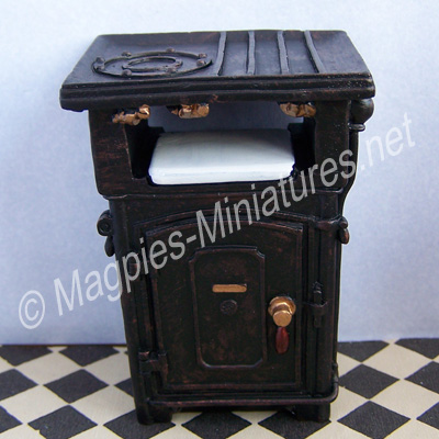 Early Gas Cooker - resin