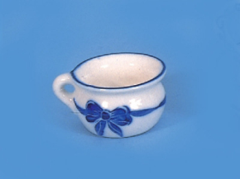 Blue and White Potty