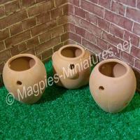 Set of Strawberry Pots