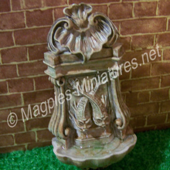 Aged Wall Fountain - water feature