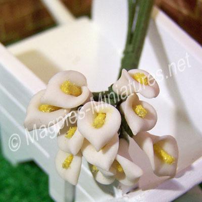 Flower Stem - White Lily