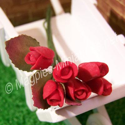 Flower Stem - Red Roses