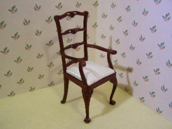 Armchair Roderick Ladderback Carver Chair