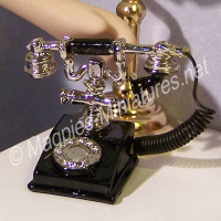 Fancy Black Telephone