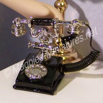 Fancy Black Telephone