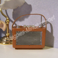 Tan Transistor  Radio
