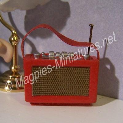 Red Transistor Radio