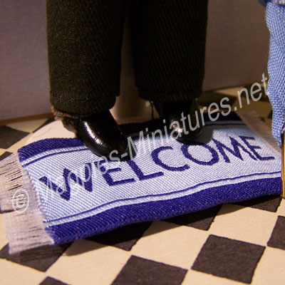 Welcome Mat - colours vary