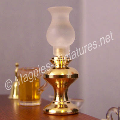 Brass Lamp - Single - Non-Working