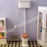 High Level Toilet - White