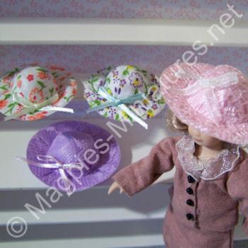 Ladies Hats, 4 Assorted