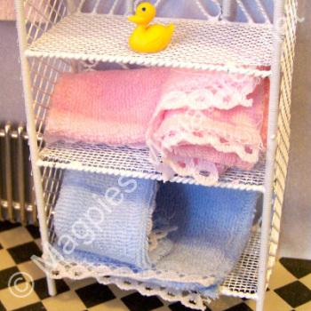 Towels, 2 Pink, 2 Blue