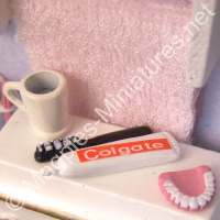 Toothpaste and Dentures Set - Dental care