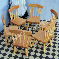 Pine Kitchen Chair - Single