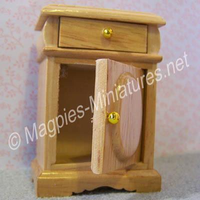 Bedside Cupboard, Pine