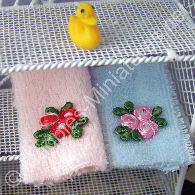 Set of Towels - Pink and Blue