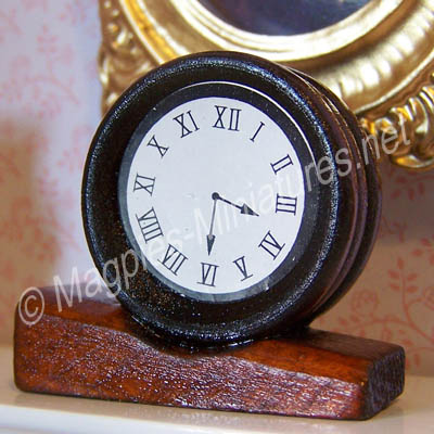 Wood Mantle Clock