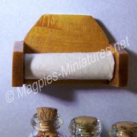 Wooden Kitchen Roll Holder