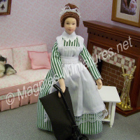 Lady - Maid in Green Dress