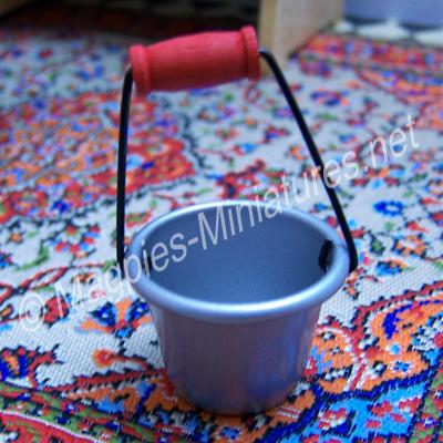 Tin Bucket - Metal