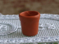Tiny Flower Pot - Terracotta
